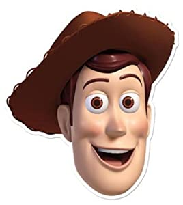 Toy Story Woody - Card Face Mask: Amazon.co.uk: Kitchen & Home