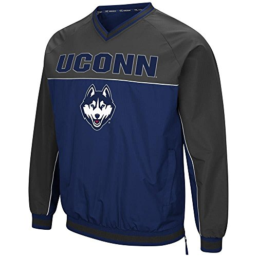 Mens UConn Connecticut Huskies Windbreaker Jacket - for sale  Delivered anywhere in USA