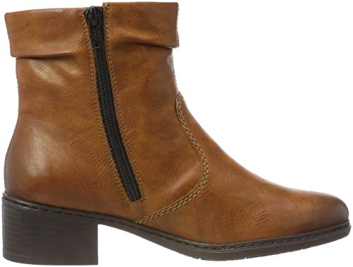 24 Ankle Women's Boots Cayenne Brown Rieker 77672 P1awqvY