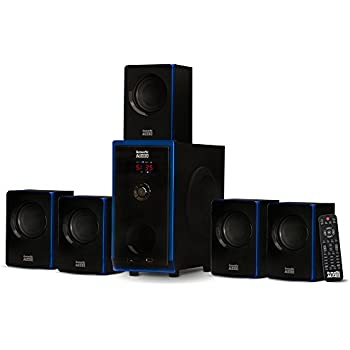 Amazoncom Sharper Image 51 Home Theater System With Subwoofer
