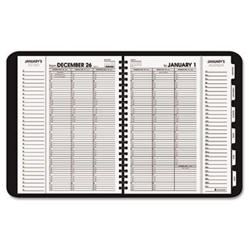 AAG70950V05 - At-a-Glance Triple View Weekly/Monthly Appointment Book