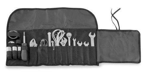 BikeMaster 17-Piece Tool Kit - Black by BikeMaster