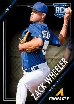 2013 Panini Pinnacle Baseball #165 Zack Wheeler Rookie Card