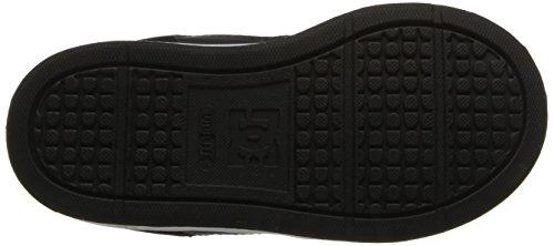 DC Shoes Rebound Se UL, Jungen Babyschuhe - Lauflernschuhe Schwarz, Schwarz, Weiß