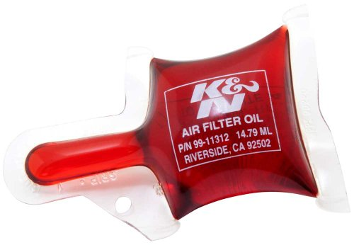 K&N 99-11312 Air Filter Oil - 1/2 oz. Pillow