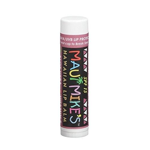 (Maui Mike's Hawaiian Lip Balm SPF 15, Passion Fruit, 1 ea - 2pc )