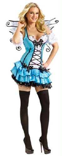 Turquoise Fairy Adult Costume (Extra Small) -