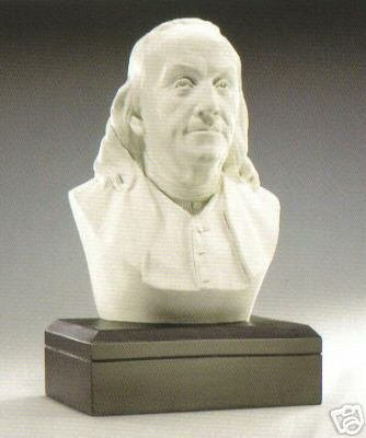 Sale - The Perfect Holiday Gift - Amazon Exclusive ! - Large Benjamin Franklin 11 Inch Bust - Founding Father
