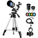 Best Telescopes - MAXLAPTER Telescope for Kids Adults Astronomy Beginners, 70mm Review