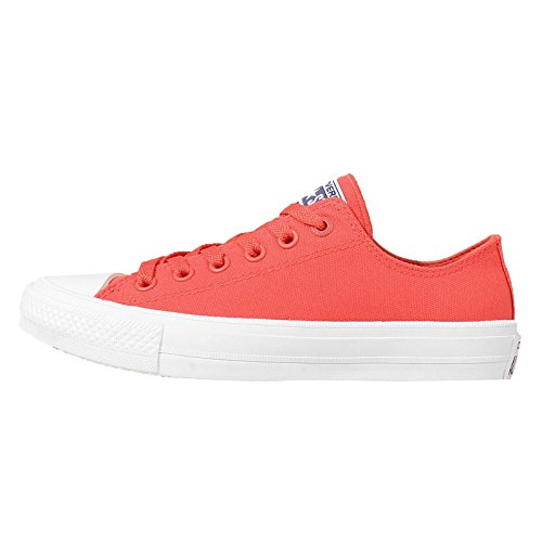 Converse Unisex-Erwachsene Chuck Taylor All Star II Low-Top Rot