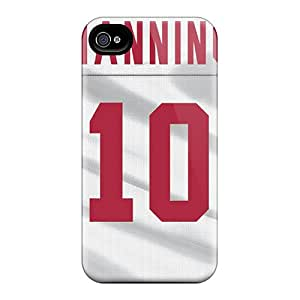 TimeaJoyce Iphone 4/4s Scratch Protection Phone Case Unique Design Realistic New York Giants Pattern [ktH18061csHs]