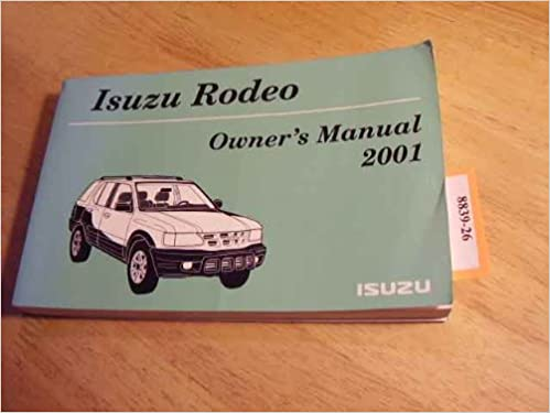 2001 isuzu rodeo sport isuzu rodeo sport isuzu amazon books fandeluxe Images