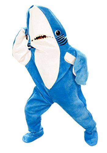 Shark Adult Unisex Animal Kigurumi Funny Cosplay Mascot Costume XX Large -