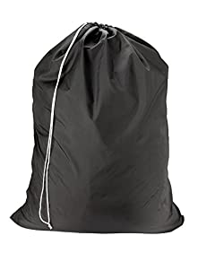 Nylon Laundry Bag - Black, 30