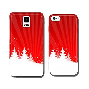 Winter Christmas trees red cell phone cover case iPhone6 Plus