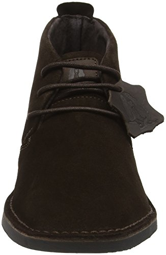 Hush Puppies Nolton Desert Slim, Botines para Hombre Marrón - Brown (Chocolate Brown)