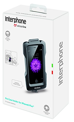 Cellularline Pro-Case Etui avec support de guidon pour iPhone 6 Plus/6S Plus