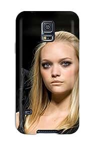 Hot 7840087K86263391 Excellent Design Gemma Ward Phone Case For Galaxy S5 Premium Tpu Case
