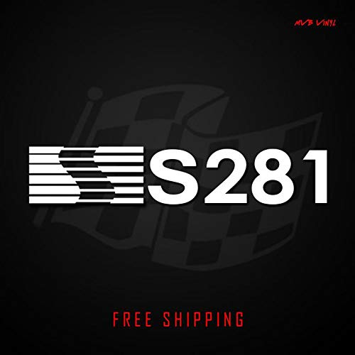 CECILIAPATER Saleen S281 Vinyl Decal Racing Sticker Banner | Ford Mustang 579