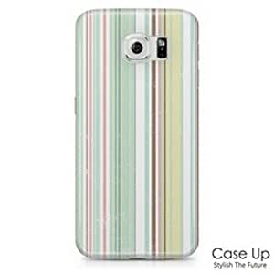 Vertical Stipe Snap On Hard Phone Skin Cover Case for Samsung Galaxy S6 SM-G920, G920P, G920V, G920R, G920T, G920W8 - S6GRID13