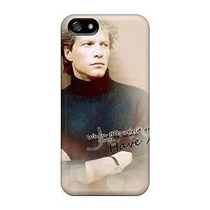 Apple Iphone 5/5s LAo4134oGfu Customized Vivid Bon Jovi Skin Anti-Scratch Hard Phone Case -JamieBratt