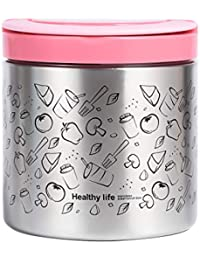 Vacuum Insulated Food Jar 22 Ounce Lunch Thermos with...