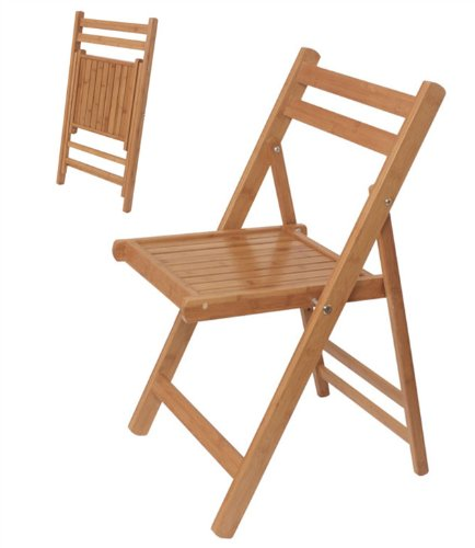 Klappstuhl holz küche  SoBuy® Klappstuhl, Küchenstuhl, Bambusstuhl, Stuhl aus Bambus ...