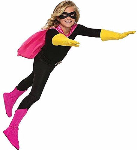 (Children's Superhero Boot Covers Pink)