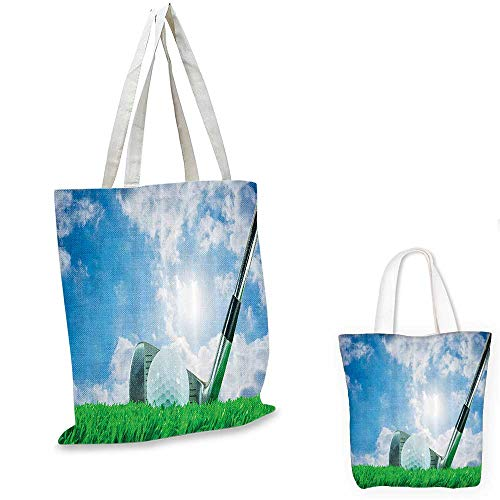Sports Decor Collection canvas laptop bag Golf Ball, used for sale  Delivered anywhere in USA