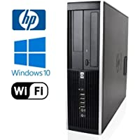 Business Desktop: HP 8000 Elite SFF Desktop - Intel Core 2 Duo 2.93GHz, NEW 1TB HDD, 8GB DDR3, Windows 10 Pro 64-Bit, WiFi, DVD-RW (Prepared by ReCircuit)