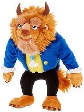"Disney Beauty /& the Beast 5/"" Beast plush"
