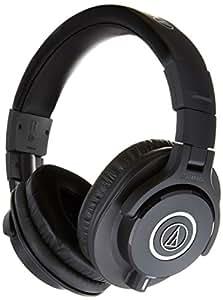 Audio-Technica ATH-M40x Professional Headphones Deluxe Bundle