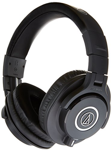Audio-Technica ATH-M40x Professional Headphones Deluxe Bundle by Audio-Technica