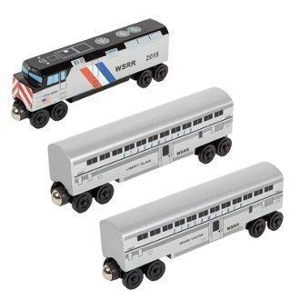 (Whittle Shortline Railroad John Henry Streamliner Passenger Train Set)