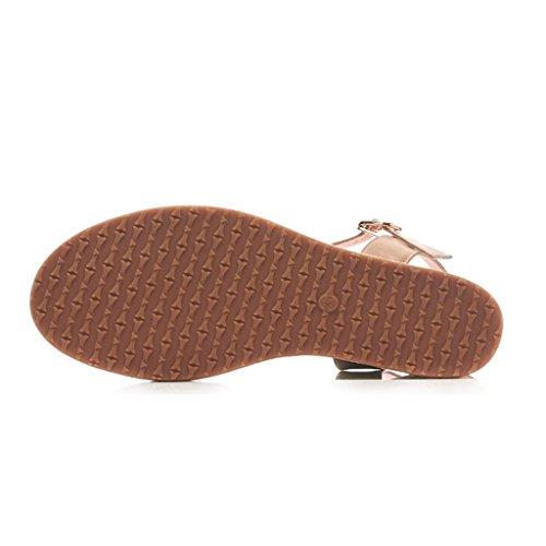 8cm Tamaño Alto Blanco Zapatos Plataforma Boda Sandalias 38 Impermeable Cuña color Blanco Tacón Verano Sexy Vintage De Paja 8ww0TxXZq