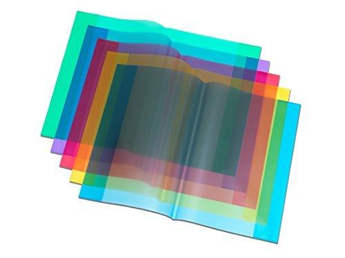 Hefth/üllen DIN A4 transparent klar Farbe 50 Heftumschl/äge