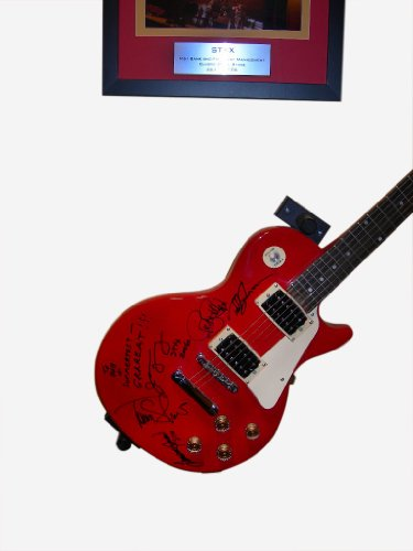 Standard Horizontal Specialized Permanent Display Mounts for Electric Guitars