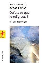 Qu'est-ce que le religieux ?