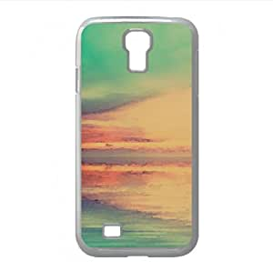Blue Lake Watercolor style Cover Samsung Galaxy S4 I9500 Case (Lakes Watercolor style Cover Samsung Galaxy S4 I9500 Case)