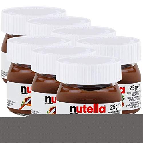 Nutella Hazelnut Chocolate Spread Weekly Mini Jar 7 x 25g