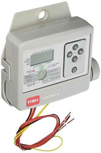 Toro DDCWP-2-9V Waterproof 2 Station Battery Controlled Controller (Controller Battery Irrigation)