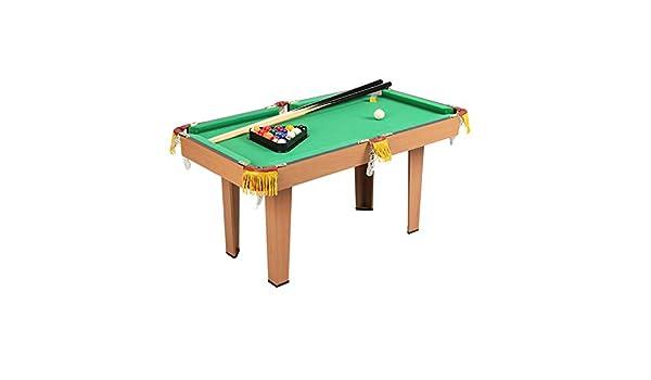 softneco Montar Fácilmente Billar Pool con 2 Cues Chalk Rack,Mini Mesa De Billar para Los Niños,Portátil Mesa Billar Juego para Home Party A: Amazon.es: Deportes y aire libre