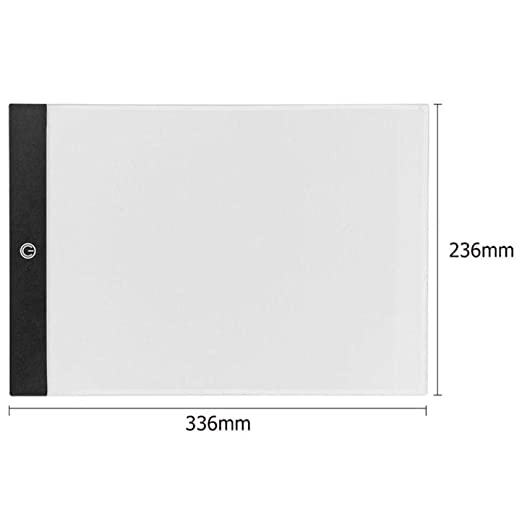 Led Light Tracing Pad Tableta Gráfica A3 A4 A5 Tableta De Dibujo ...
