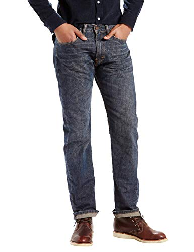 Levi's Men's 505 Regular Fit-Jeans, Range, 36x34