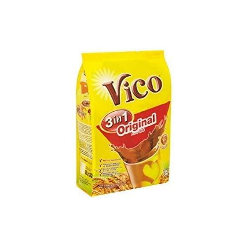 8 Pack Vico 3 in 1 Original Chocolate Malt Drink (8 x 18 sachets) Free Express Delivery