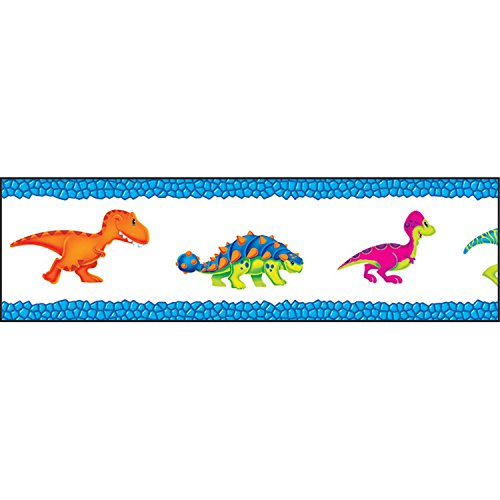 - Trend Enterprises Inc. Dino-Mite Pals Bolder Borders, 35.75'