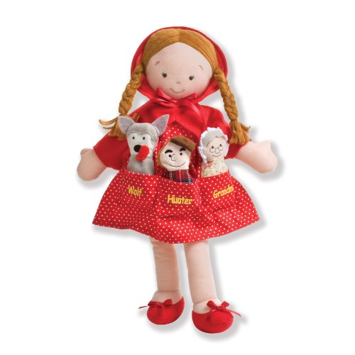 North American Bear Company Dolly Pockets Little Red Riding Hood Doll