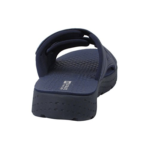 Gold Pigeon Shoes GP8589 Men Women Thick Sole Light Weight High Bounce Comfort Outdoor Water Slide Sandals 8591 Navy Blue 2eF8nXmL