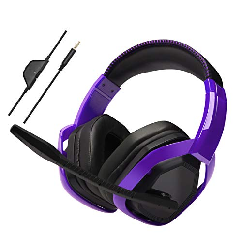 AmazonBasics Pro Gaming Headset - Purple