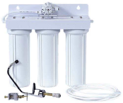 Genesis Water Technologies GW-MFS-M Multi-Stage Undercounter Water Filtration Unit with Sediment and Carbon Filtration Stages-Two-Gallon//Minute flow Rate Genesis Water Technologies Inc